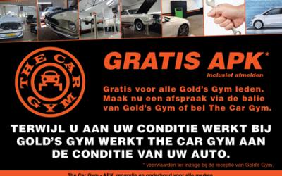 GRATIS APK voor alle Gold's Gym leden.