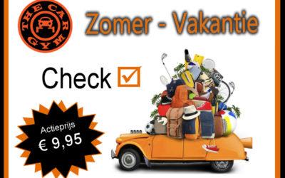 Super Actie! Zomer-Vakantie Check actieprijs € 9,95